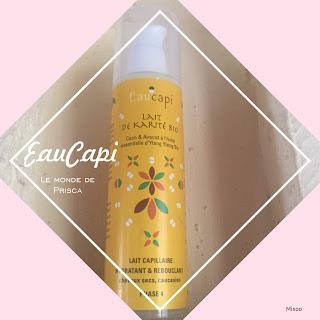 lait capillaire soins cheveux karité