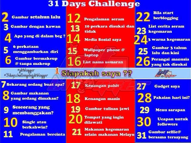 Day 18 Challenge: Kenangan manis