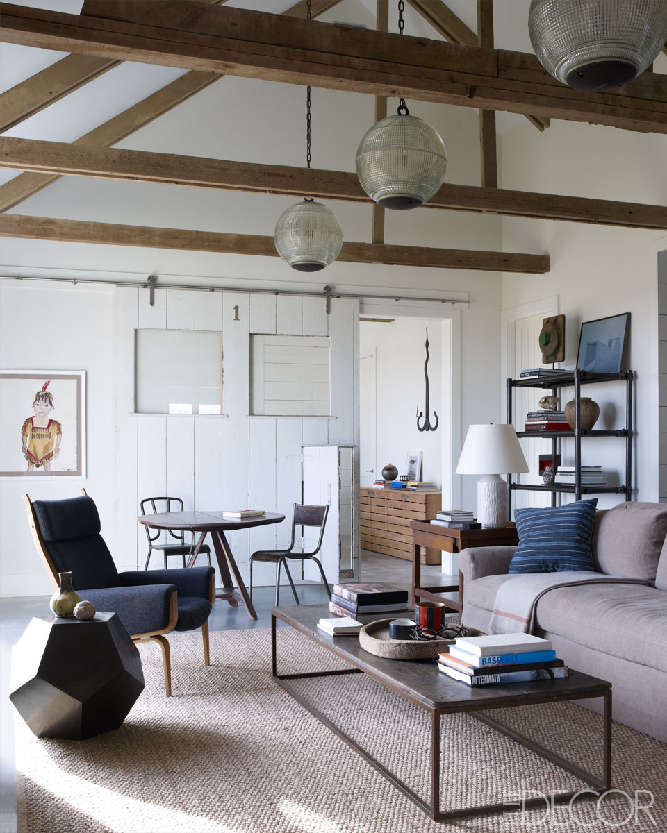 Alive & Kicking: Historic Meets Contemporary :: Elle Decor