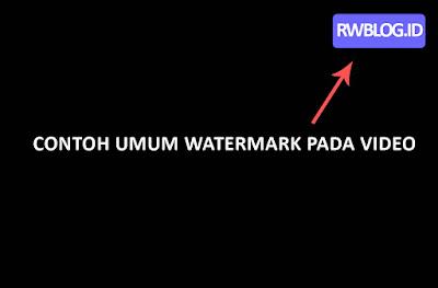 Watermark Video
