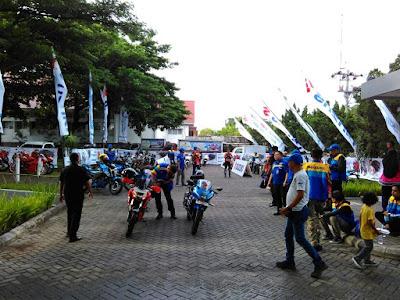 Persiapan Touring Wisata Suzuki GSX 150 season 2 Sulawesi