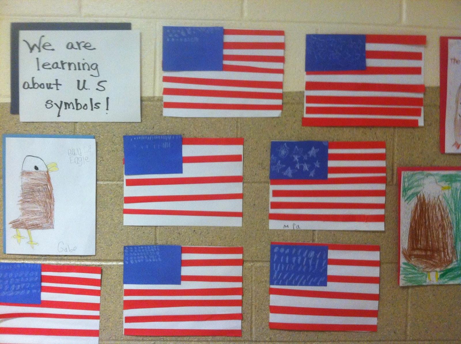 Miss Llewellyn S Kindergarten American Symbols