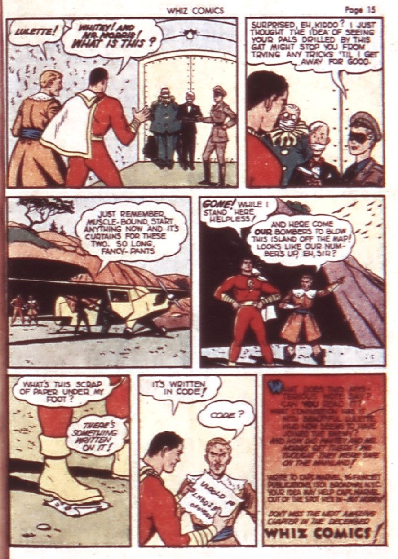 WHIZ Comics issue 23 - Page 17