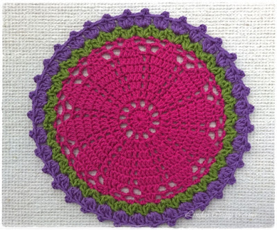 crochet doilies free pattern