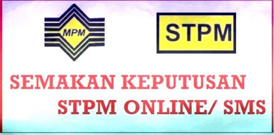 Keputusan STPM 2017 Online Dan SMS
