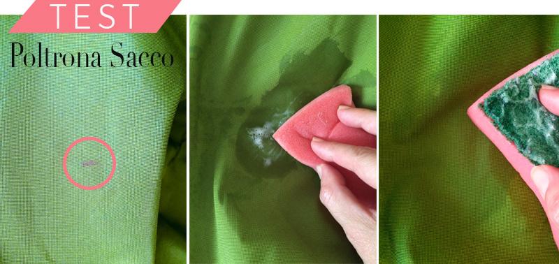 Icone del design: la mitica poltrona Sacco test macchia