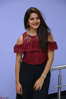 Pavani Gangireddy in Cute Black Skirt Maroon Top at 9 Movie Teaser Launch 5th May 2017  Exclusive 026.JPG