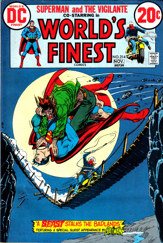 Read online World's Finest Comics comic -  Issue #214 - 1