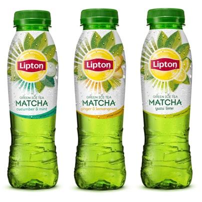 nieuw lipton ice tea green matcha