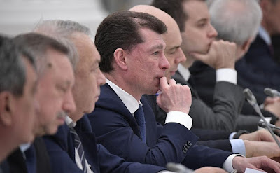 Labor and Social Protection Minister Maxim Topilin at the meeting of Council for Strategic Development and Priority Projects.