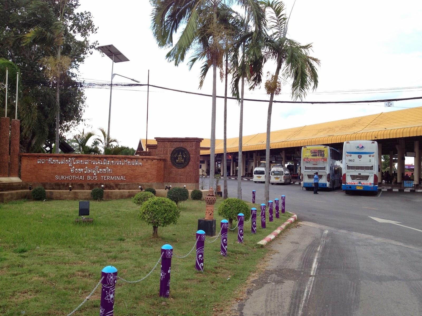 Old Sukhothai - Bus station