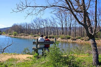 La laguna El Salmoral - Prádena del Rincón - Madrid - Día del Libro