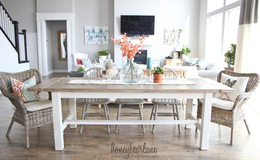 12 Beautifully Rustic DIY Farmhouse Tables | Little House ...