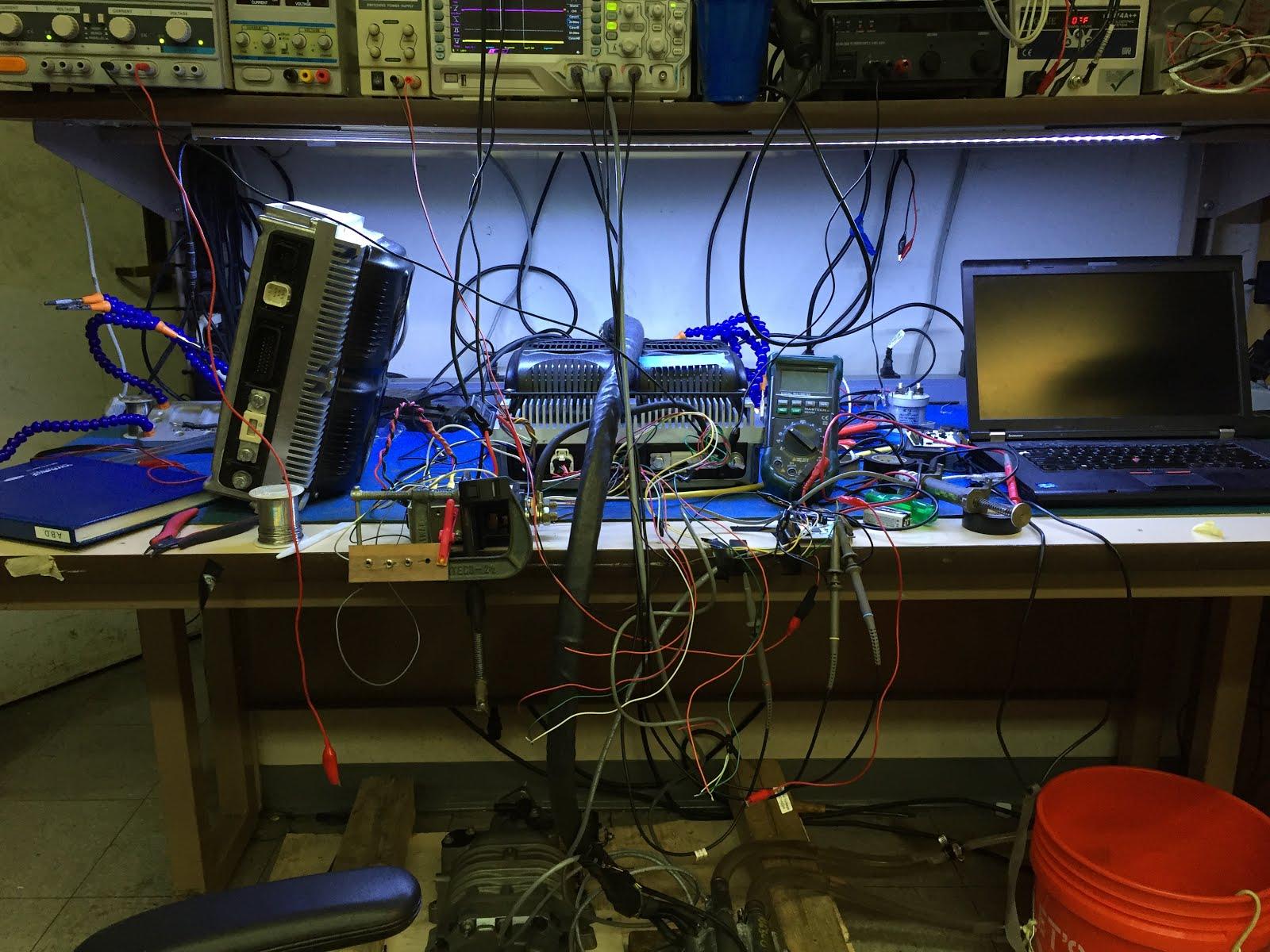 The Cactus Zone: Electric Boat using a SEVCON espAC motor controller