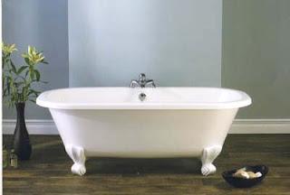 A Bath with Legs