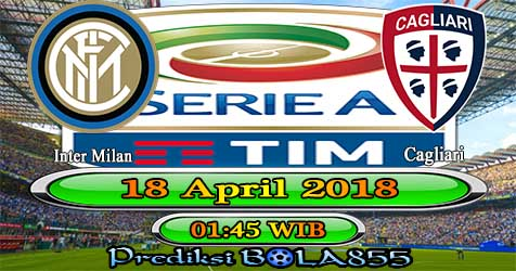 Prediksi Bola855 Inter Milan vs Cagliari 18 April 2018