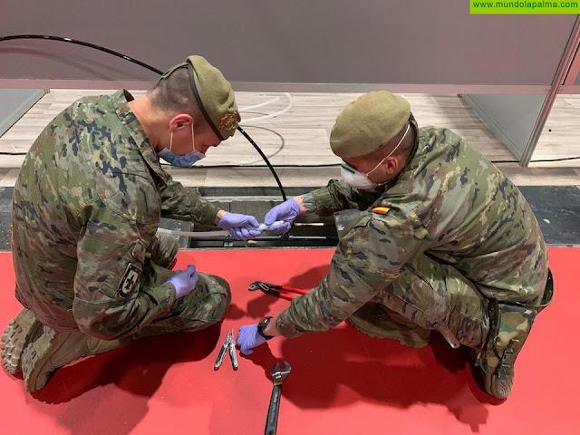 Actividades previstas a realizar por las unidades del Ejército de Tierra en Canarias dentro de la Operación Balmis contra el COVID 19