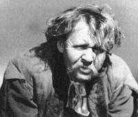 The title character Rembrandt 1936 Charles Laughton