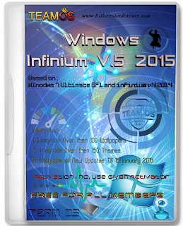 Download Windows 7 Infinium v5 2015 X64 Pre activated