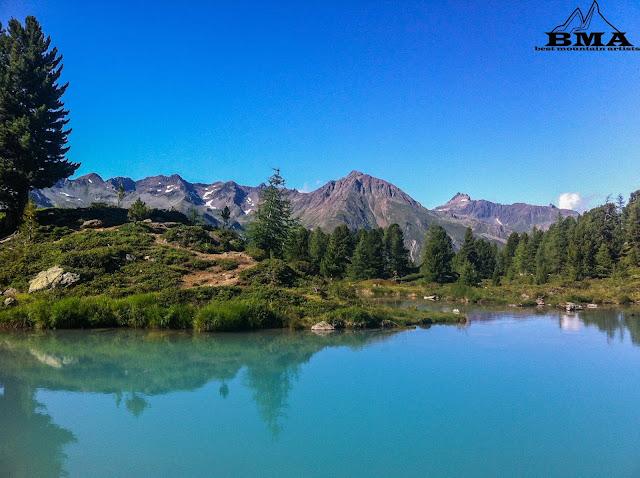 wandern Tirol - Berglisee Mathon bei Ischgl