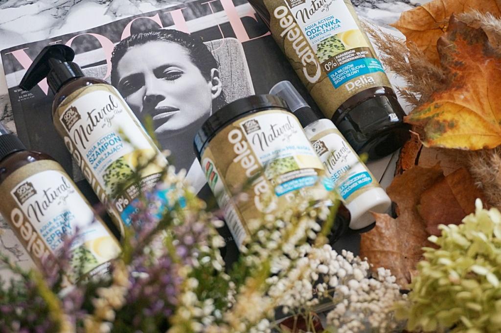Delia Cameleo natura on your hair aqua action pielęgnacja włosów