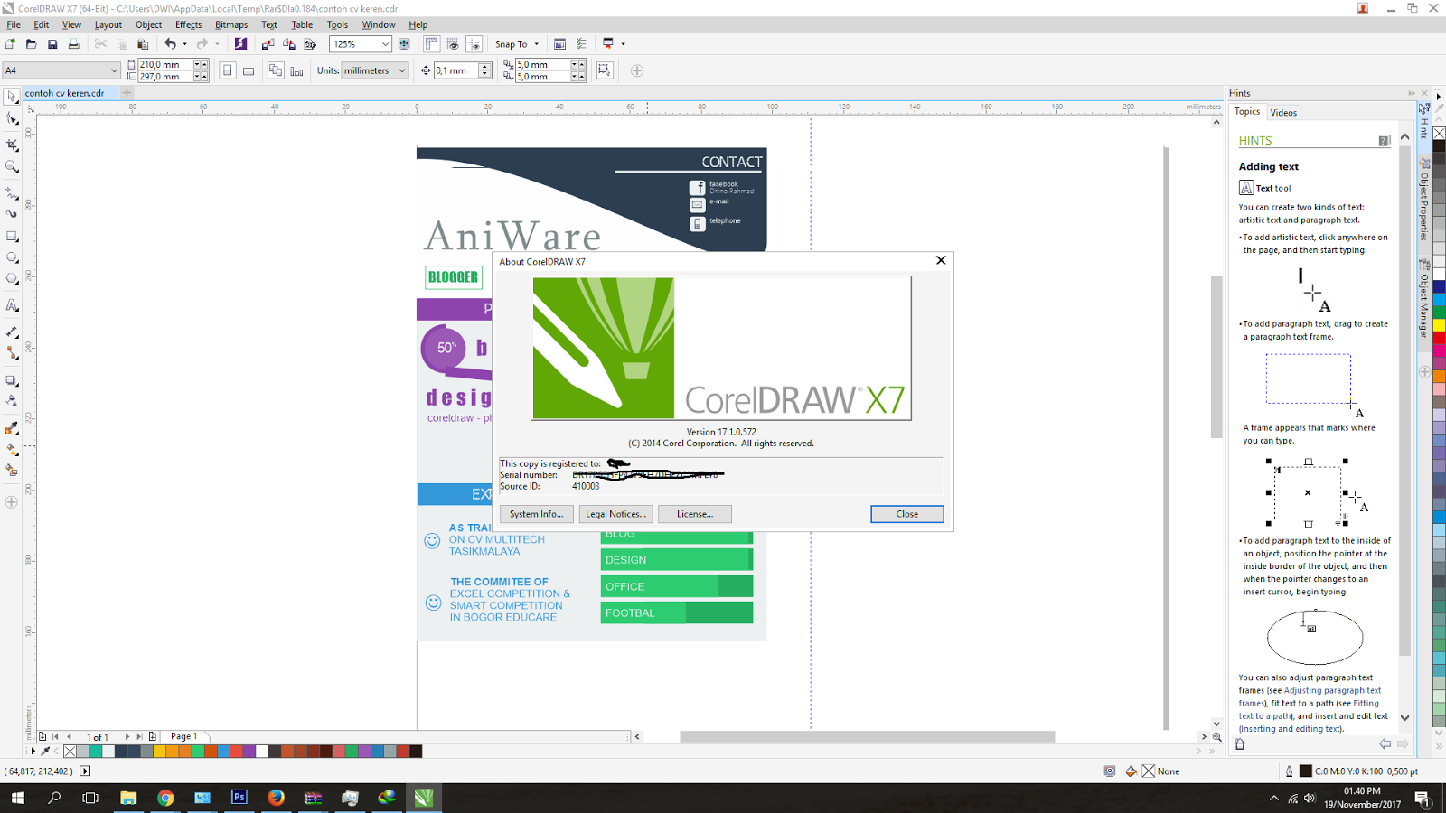 Corel Draw X7 free. download full Version With Crack