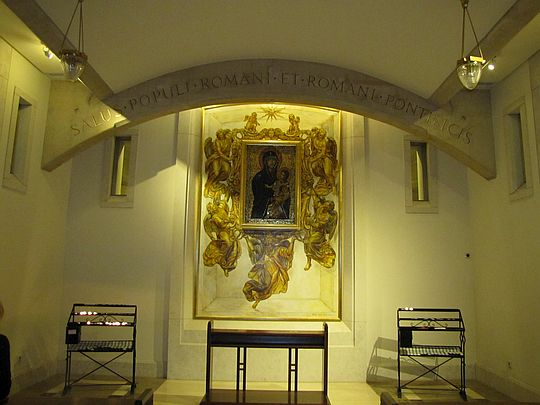 Kaplica Matki Bożej Większej (Santa Maria Maggiore).
