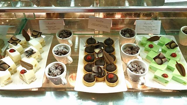 Melba, Langham Hotel, dessert