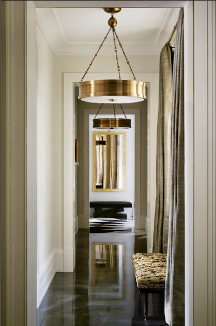 Pablo Paniagua hallway Design via Belle Vivir