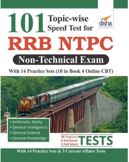 RRB NTPC Exam Books PDF Download With 101 Topic Wise Speed