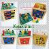 Kotak 5 in 1 Mainan Edukasi Anak