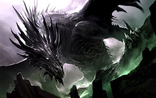 Huge dragon