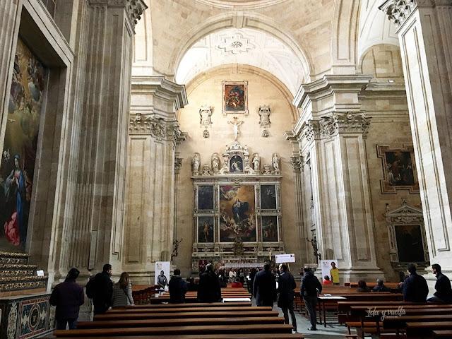 Iglesia de la Purísima interior
