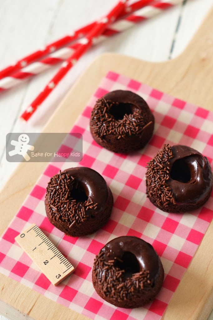 Chocolate zucchini doughnuts donuts