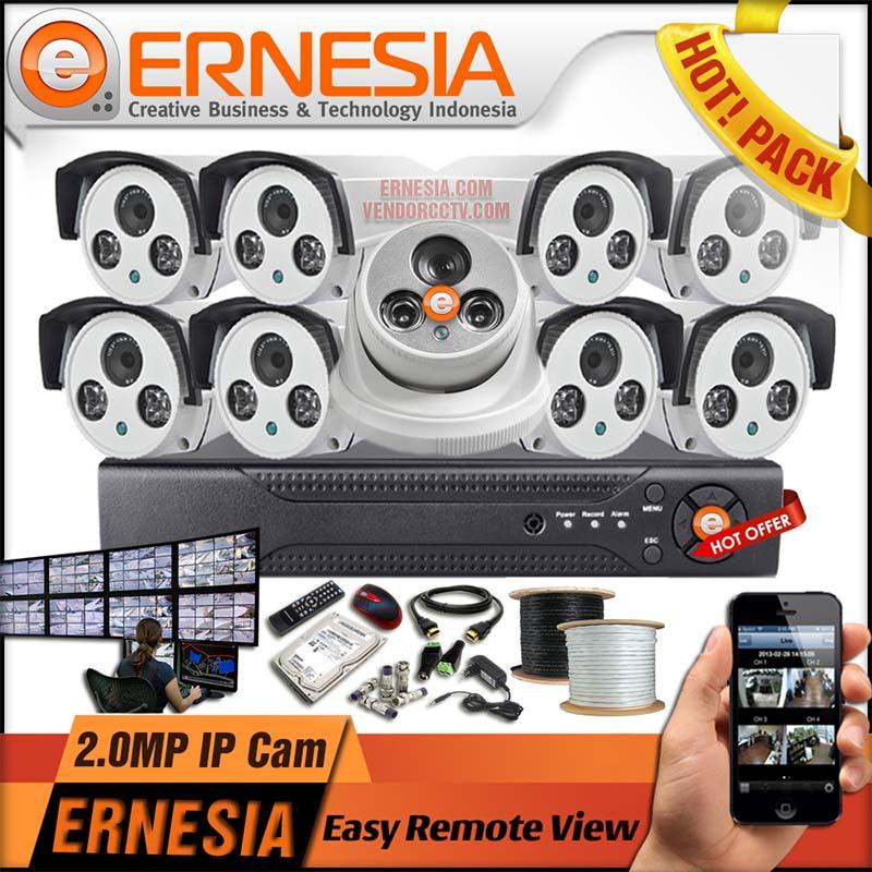Paket Pasang CCTV cirebon ERNESIA
