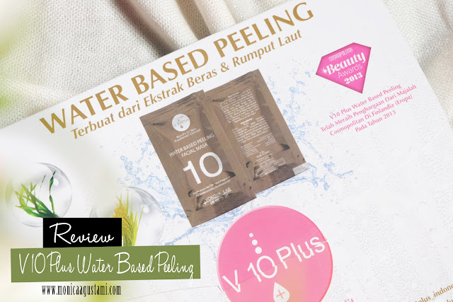 review v10 plus water based peeling