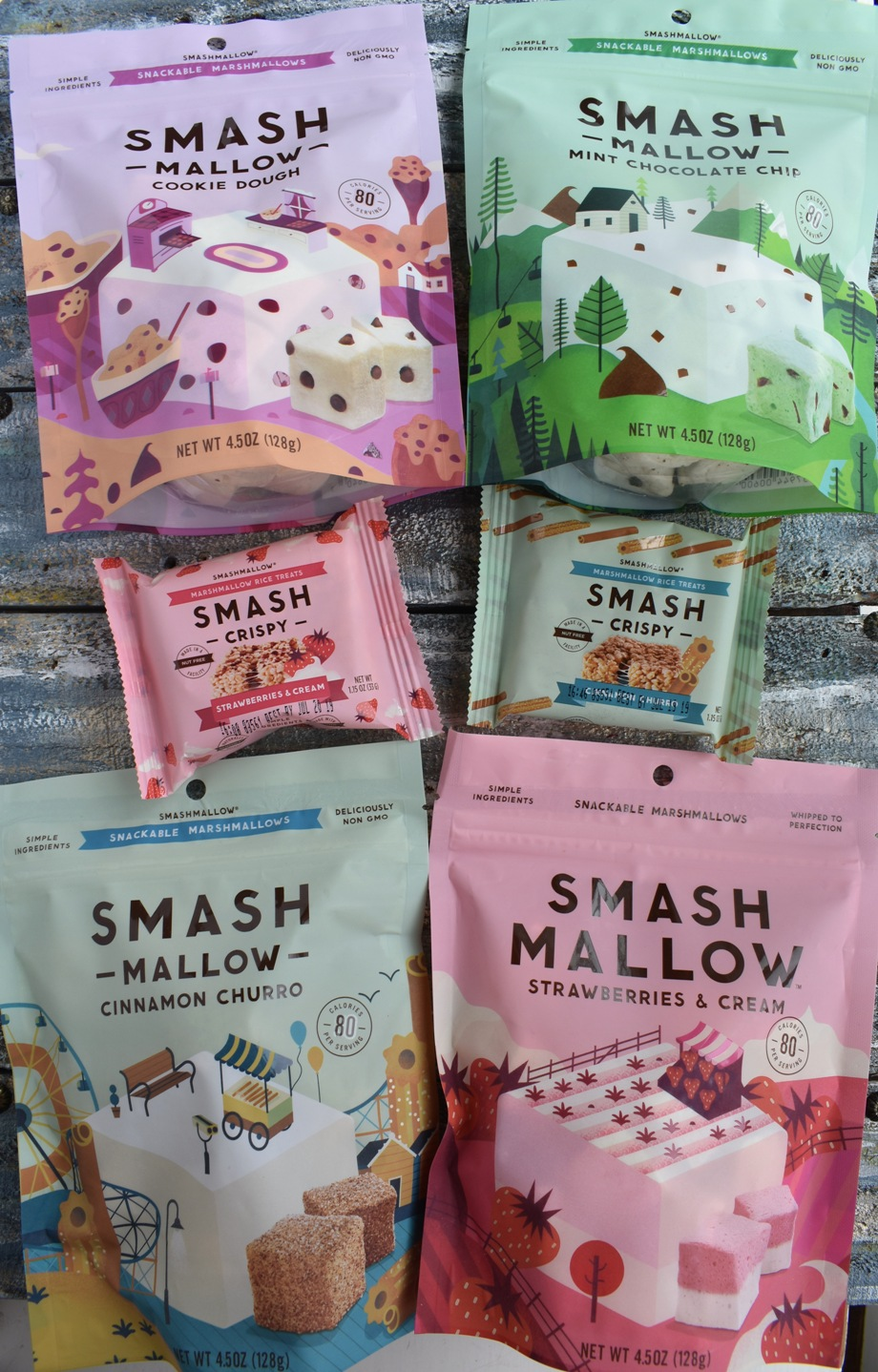 SMASHMALLOW Marshmallows and Marshmallow Crispy Treats