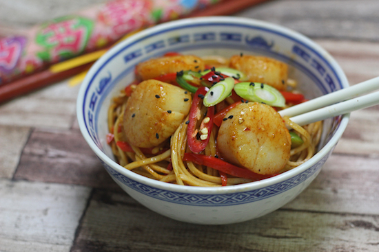 Scallops recipes UK
