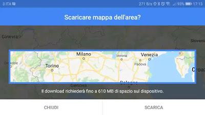 scaricare mappe