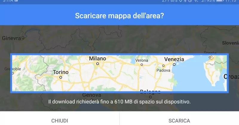 SCARICARE TRAGITTO MAPS