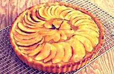resep kue tart Apple