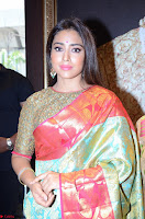 Shriya Saran Looks Stunning in Silk Saree at VRK Silk Showroom Launch Secundrabad ~  Exclusive 132.JPG