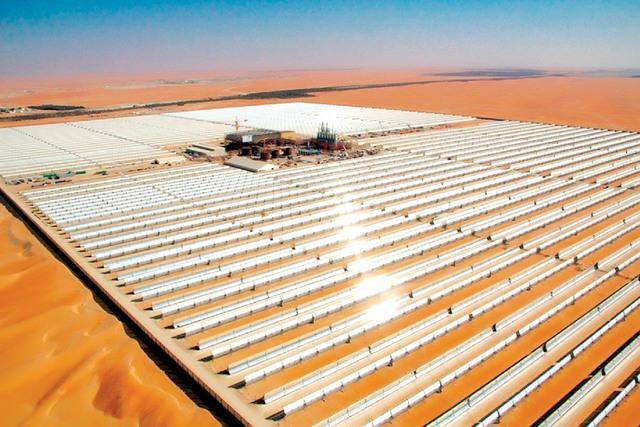 مشروع شمس 1 في الامارات