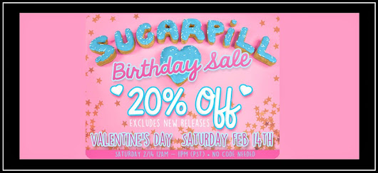 The Crow and the Powderpuff | A Creative Makeup & Beauty Blog: Sugarpill 20% Off Birthday Sale - One Day Only