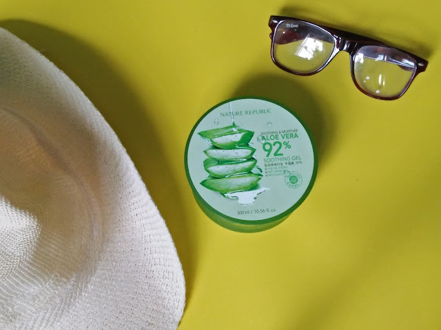 [REVIEW] Nature Republic Aloe Vera 92% Soothing Gel