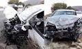 Σφοδρή μετωπική σύγκρουση με εγκλωβισμό στην Κρήτη (φωτο)