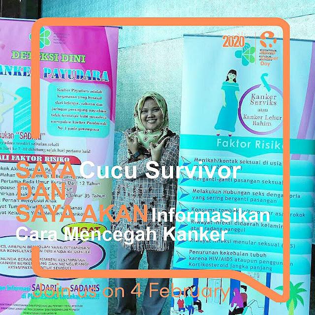 Dukungan terhadap survivor kanker