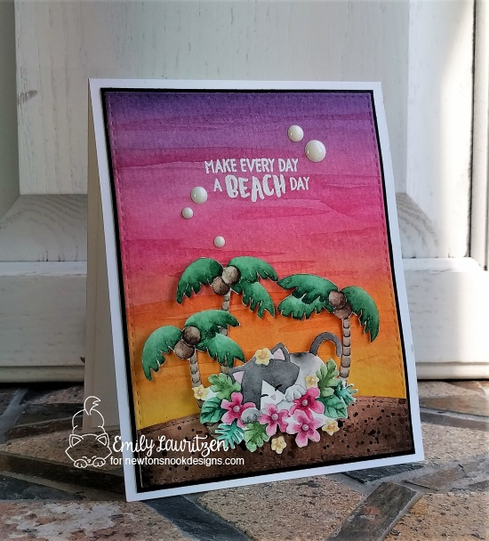 Make every day a beach day by Emily features Aloha Newton by Newton's Nook, #newtonsnook