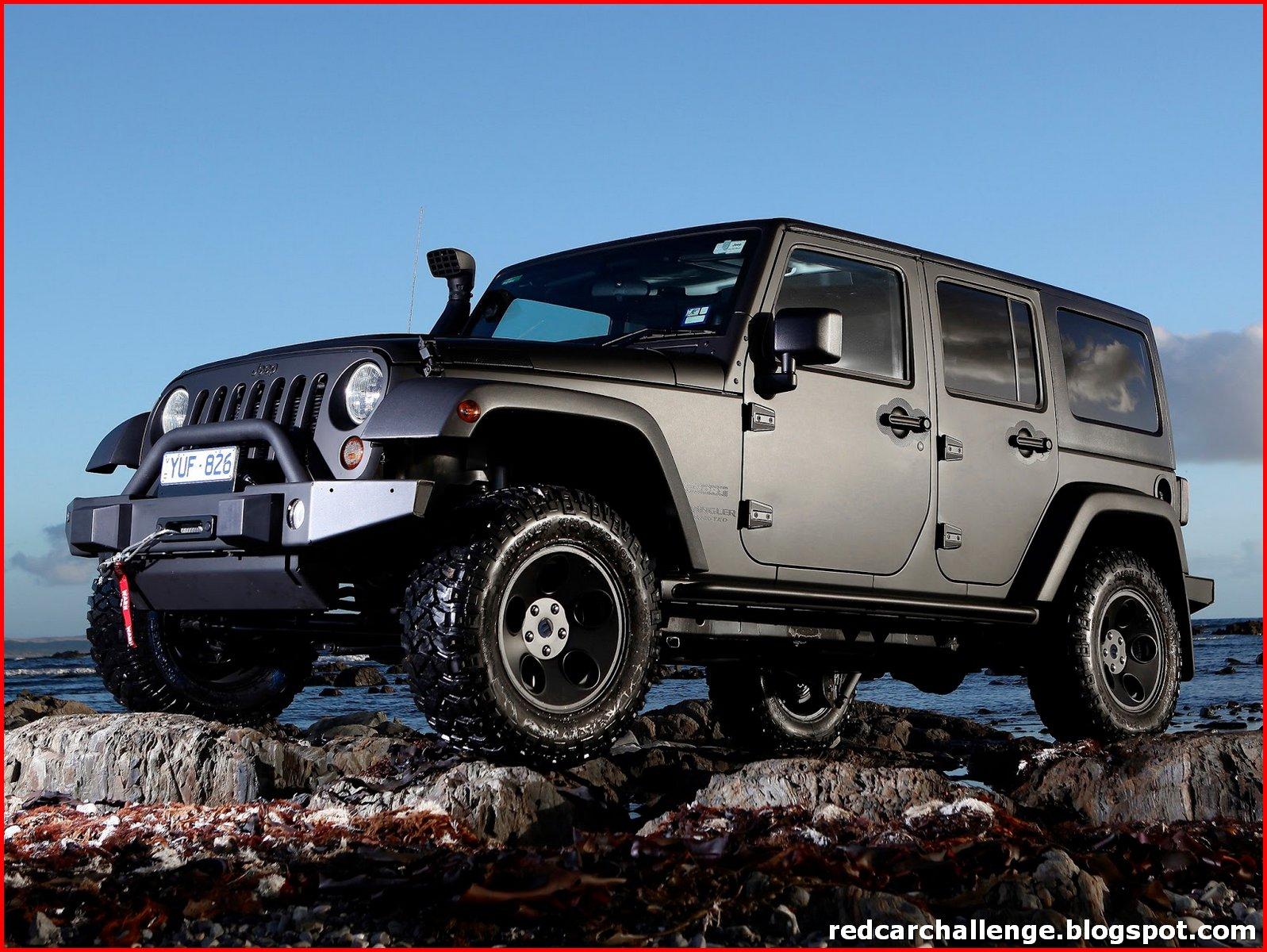 Jeep Wrangler Types