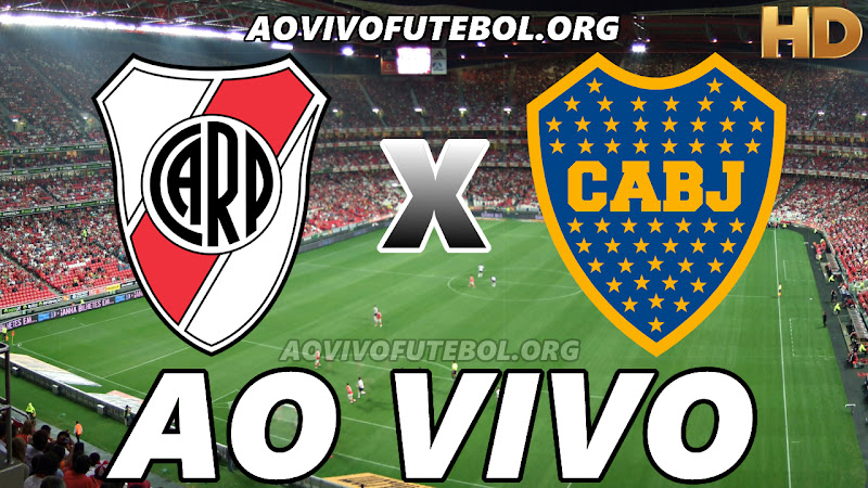 River Plate x Boca Juniors Ao Vivo na TV HD